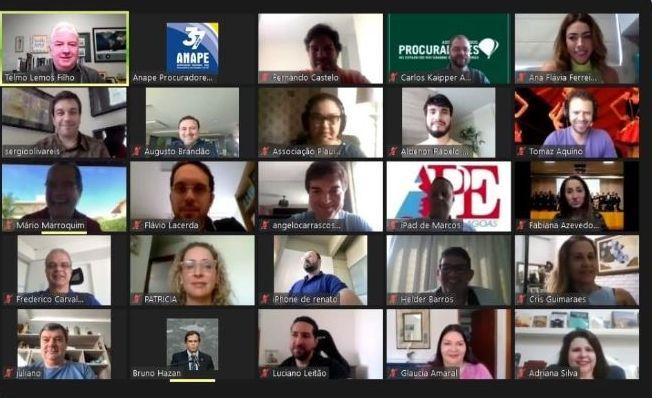 APEP participa de reunião virtual da Anape