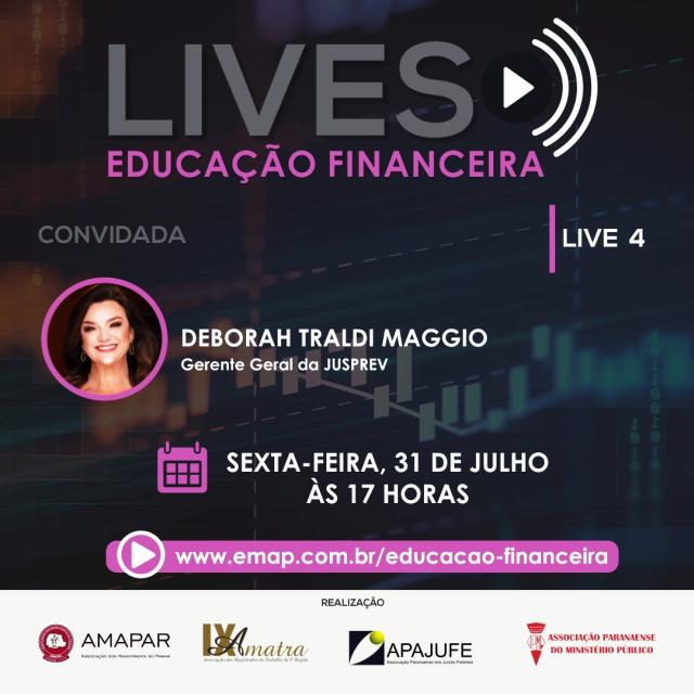Live aborda educação financeira