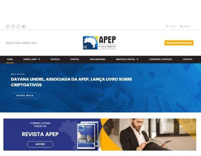 Associados têm espaço exclusivo no novo site da APEP