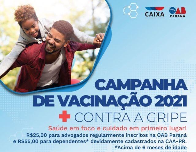 APEP apoia campanha de vacinação contra a gripe organizada pela CAA-PR