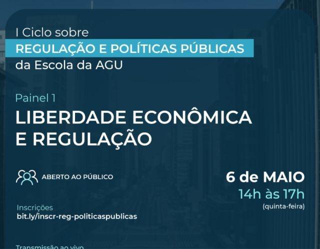 Vinícius Klein, associado da APEP, fala sobre liberdade econômica e regulação em evento da EAGU