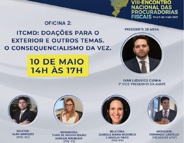 APEP participa do VIII Encontro Nacional das Procuradorias Fiscais