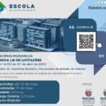 Diretor da APEP fala sobre a Lei nº 14133/2021 em evento da Escola de Gestão do Paraná