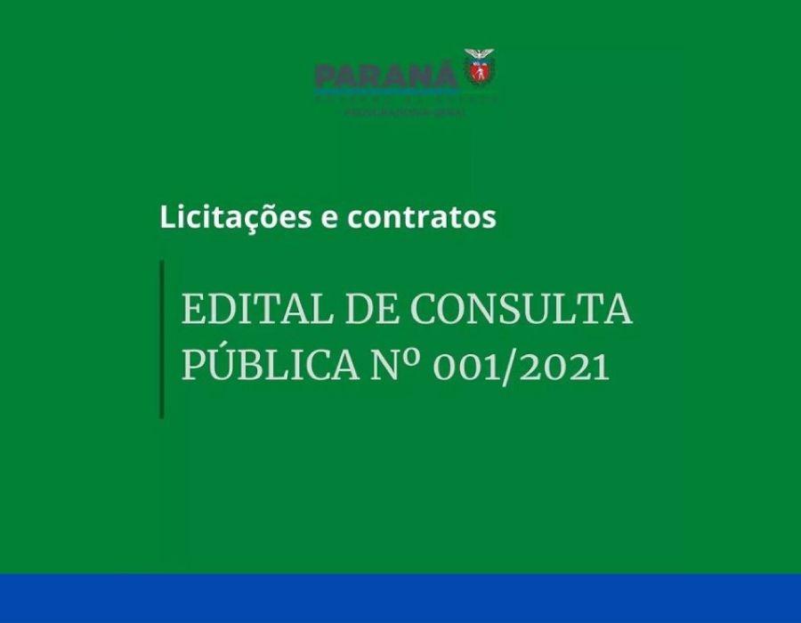 PGE-PR abre consulta pública acerca da minuta do decreto estadual que regulamenta a nova lei de licitações
