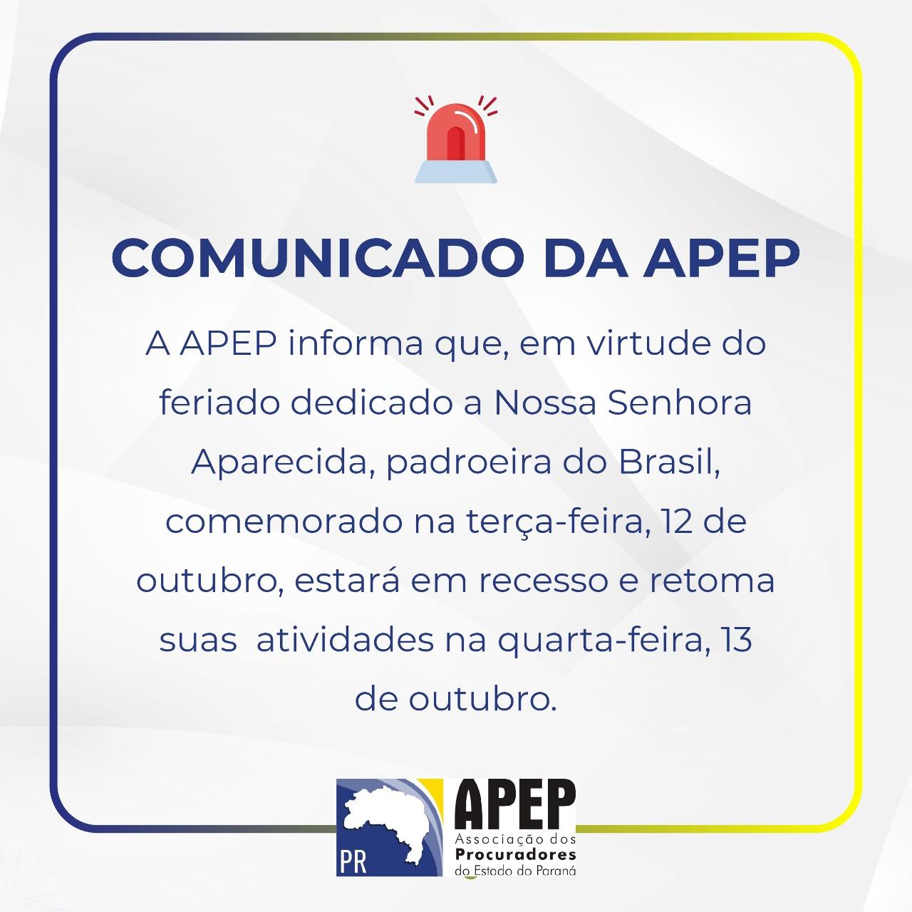 Comunicado APEP