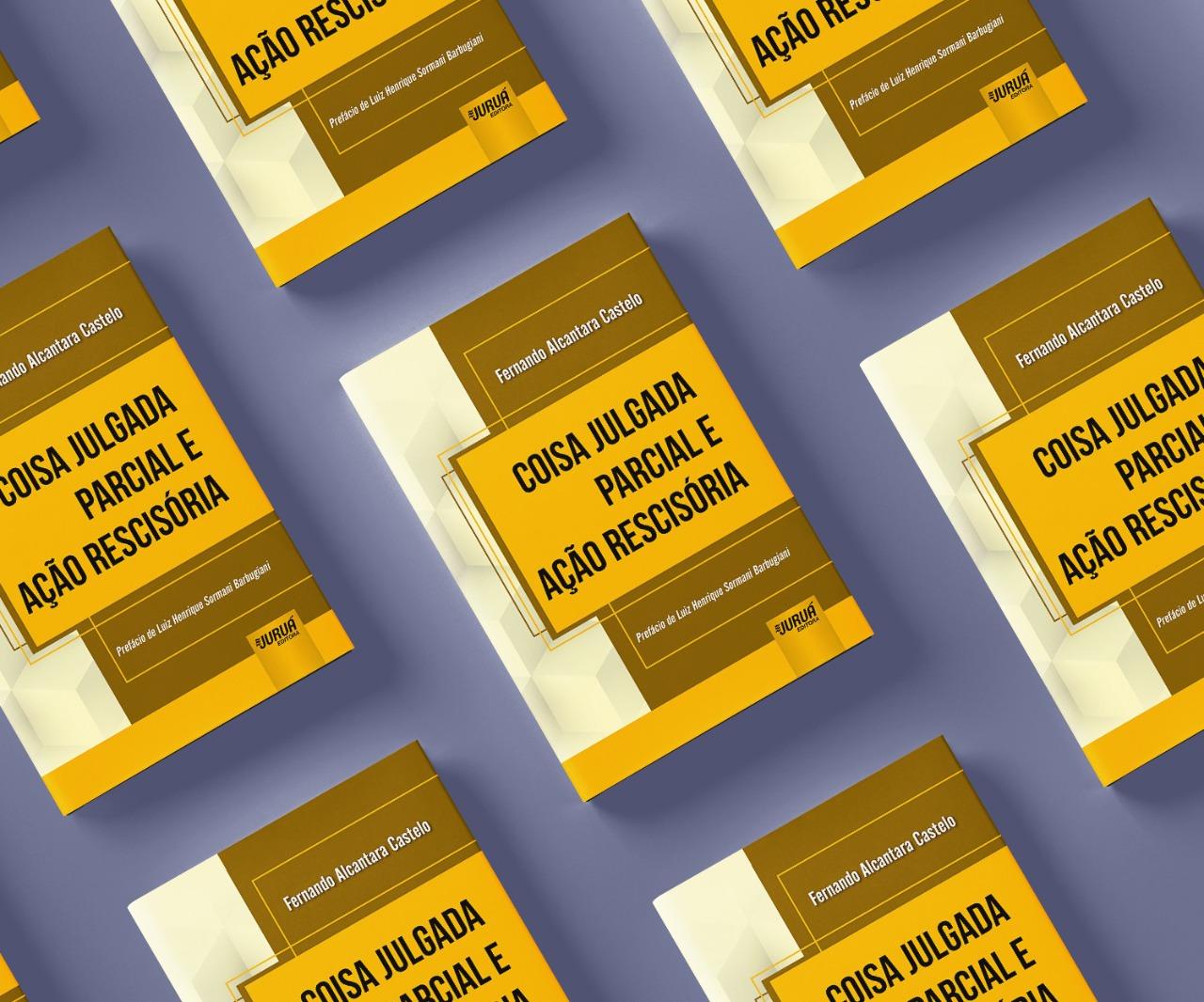 Fernando Castelo, Procurador do Estado e Presidente da APEP, lança livro pela Juruá Editora