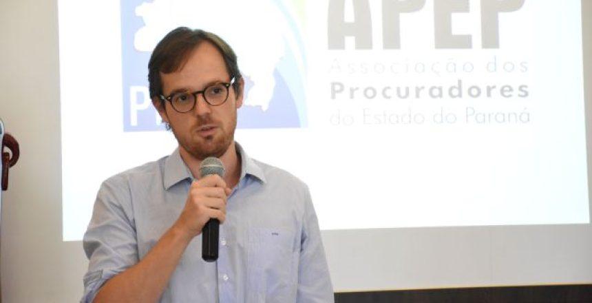 Procurador do Estado e associado da APEP, Antonio Pedro Pellegrino