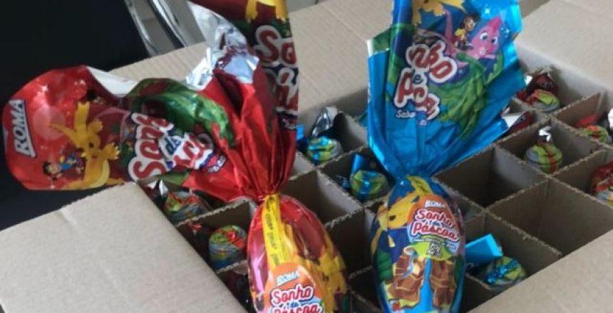17.03.21 - APEP entrega ovos de Páscoa à ONG Junta Mais destaquq